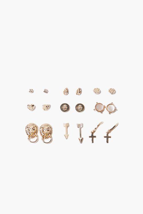 Variety Stud Earring Set, image 1