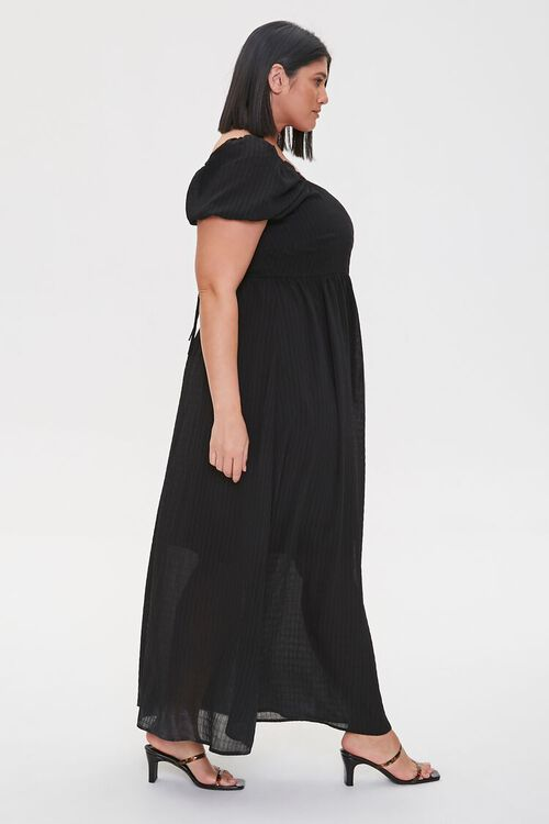 Plus Size Cutout-Back Maxi Dress, image 3