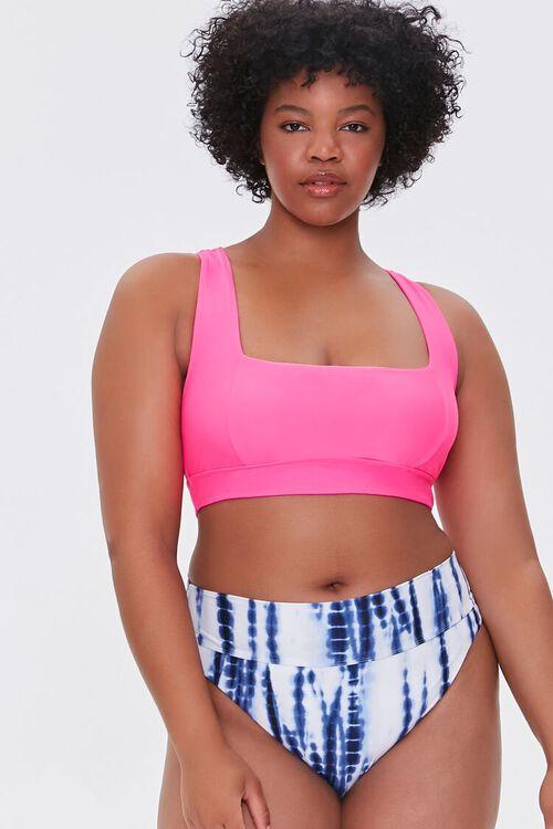 Plus Size Tie-Dye Bikini Bottoms, image 5