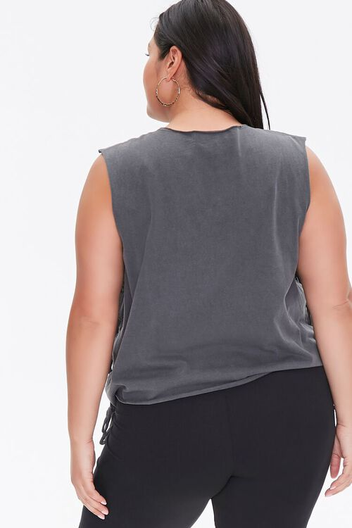 Plus Size Dragon Muscle Tee, image 3