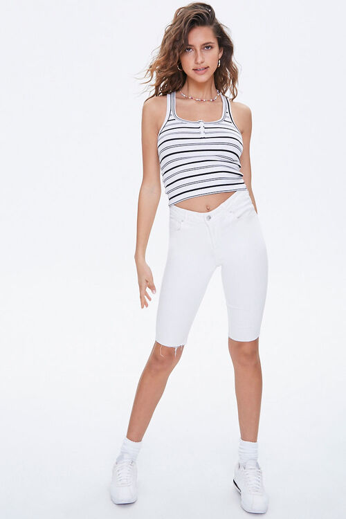 Ribbed Striped Tank Top, image 4