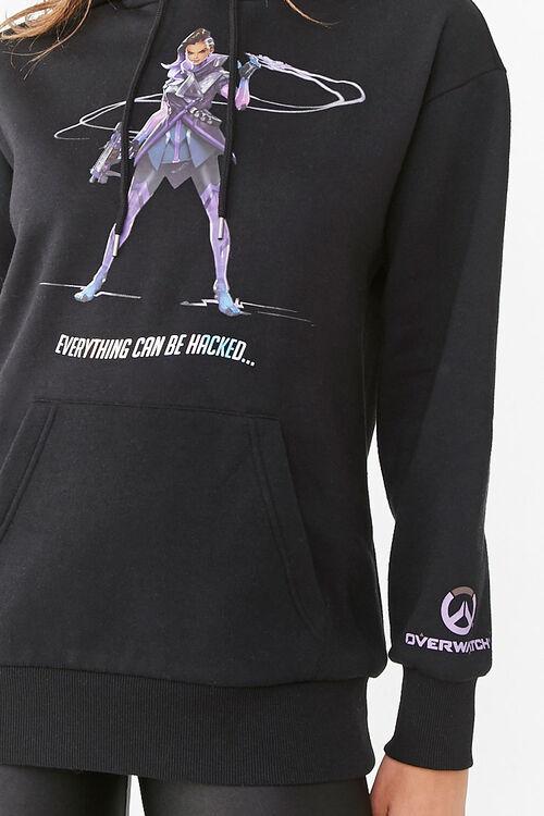 Fleece Overwatch Graphic Hoodie, image 5