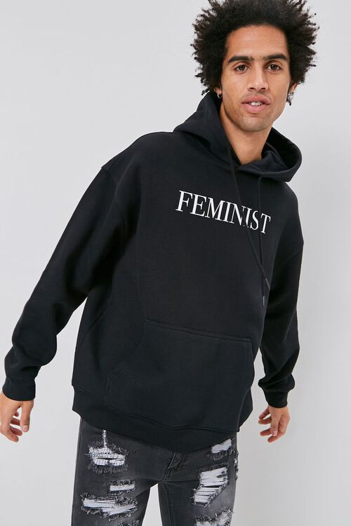 Feminist Graphic Hoodie, image 1