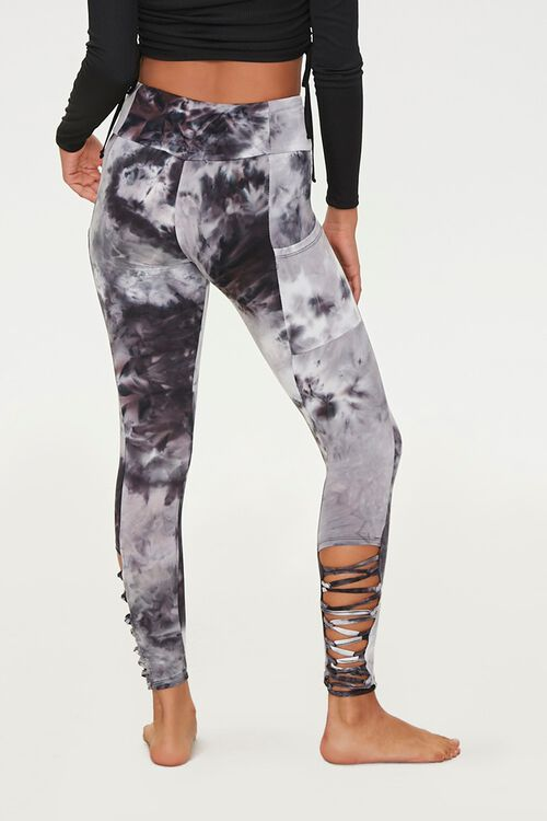 Caged Tie-Dye Leggings, image 3
