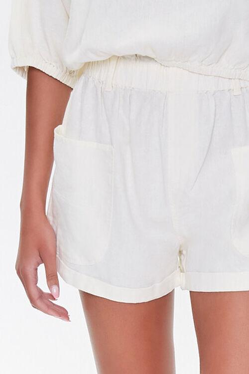 Kendall & Kylie Linen-Blend Shorts, image 6