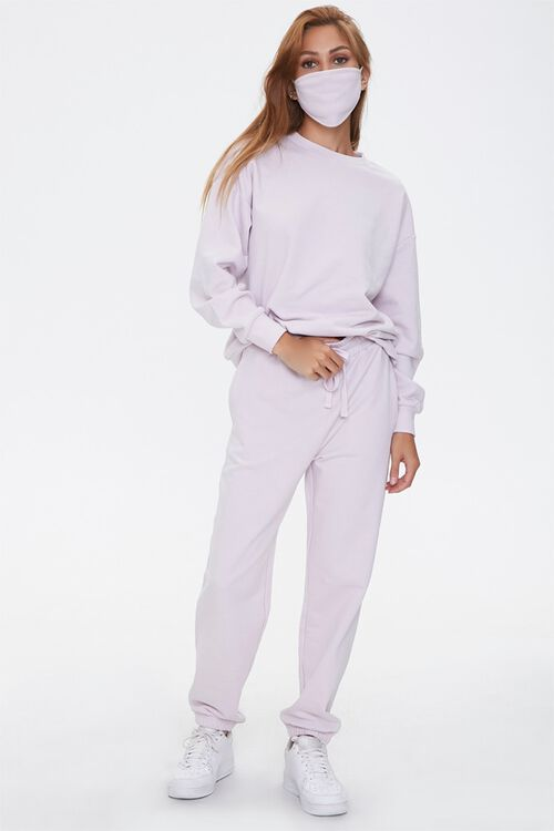 French Terry Drawstring Sweatpants, image 5