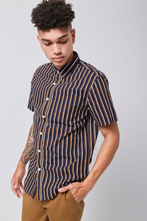 Striped Fitted Shirt, image 1