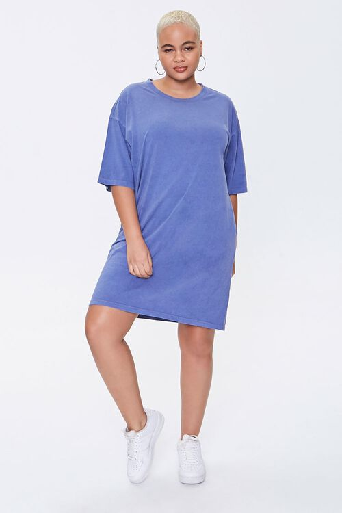 Plus Size Crew T-Shirt Dress, image 4