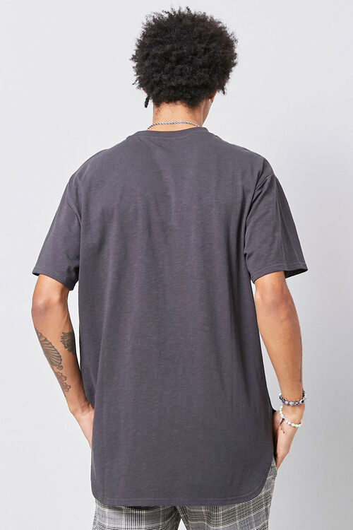 Scoop Hem Knit Tee, image 3