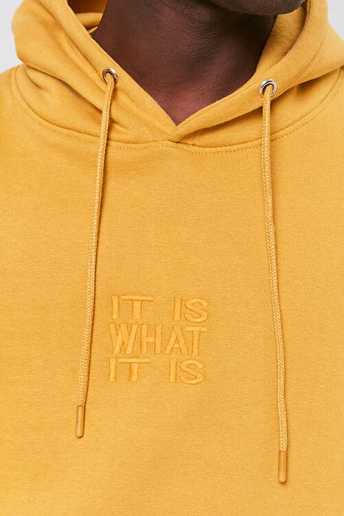 It Is What It Is Embroidered Graphic Hoodie, image 5