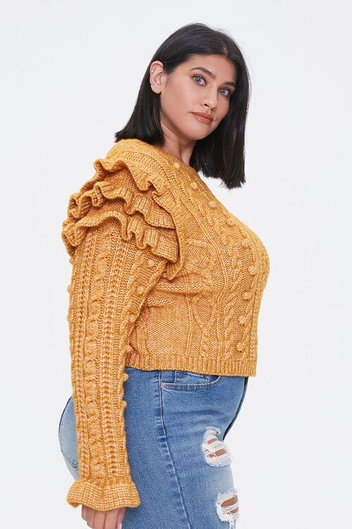 Plus Size Ruffled-Sleeve Sweater, image 2