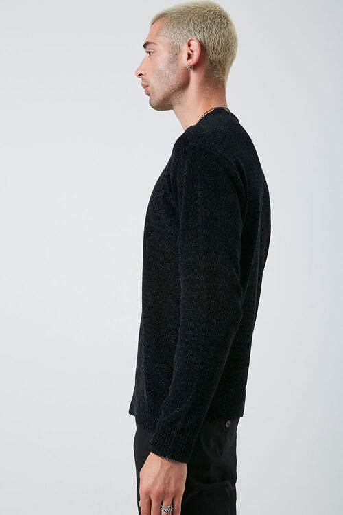 Chenille Crew Neck Sweater, image 2