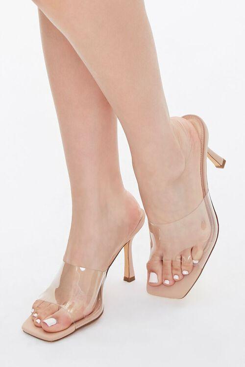 Translucent-Strap Stiletto Heels, image 1