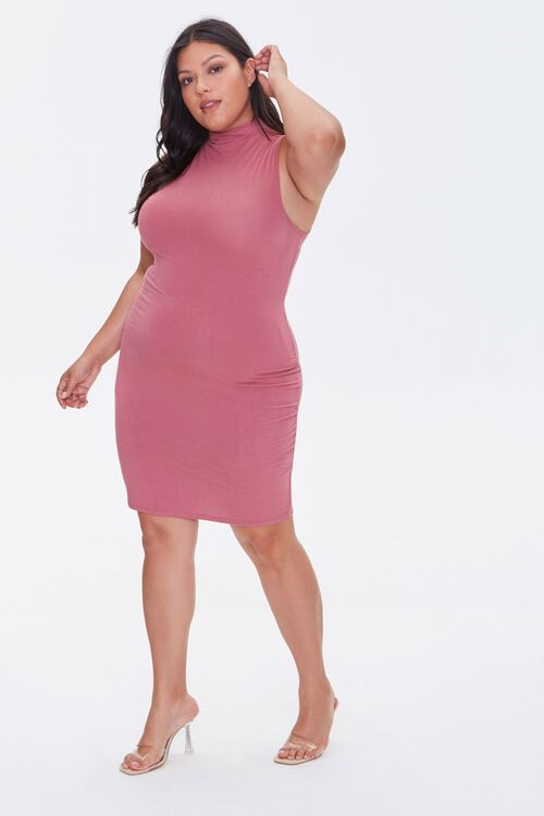 Plus Size Sleeveless Mini Dress, image 4