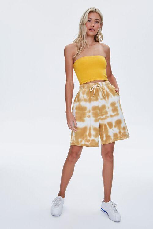 Bleached Drawstring Shorts, image 5