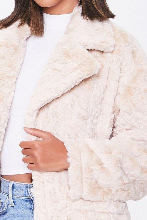 Faux Fur Longline Coat, image 5
