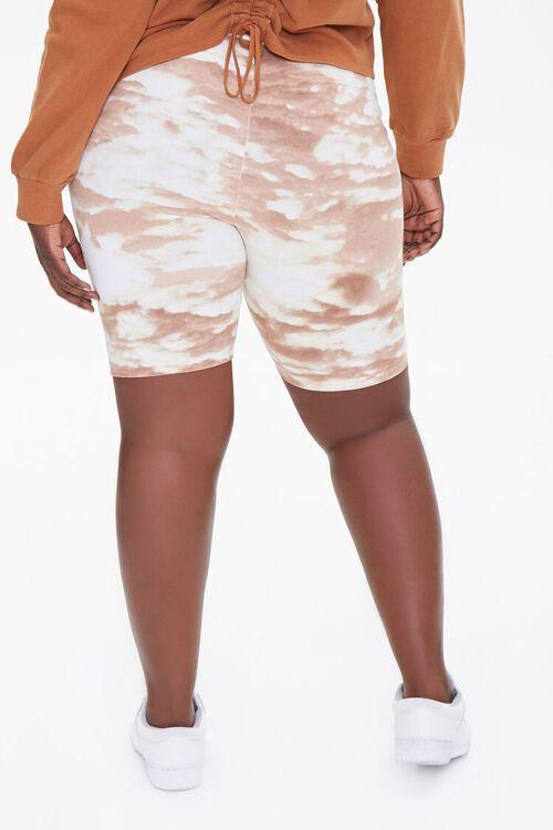 Plus Size Cloud Wash Bike Shorts, image 4