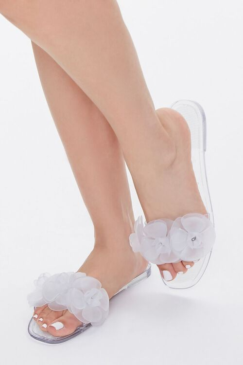 Floral Jelly Sandals, image 1