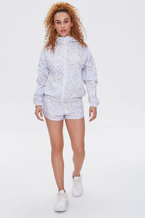 Active Ditsy Floral Windbreaker, image 4