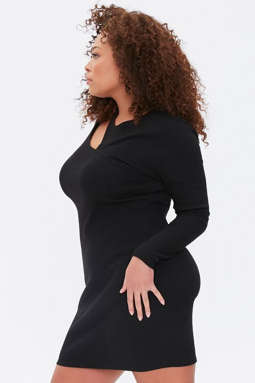 Plus Size Cutout Bodycon Dress, image 2