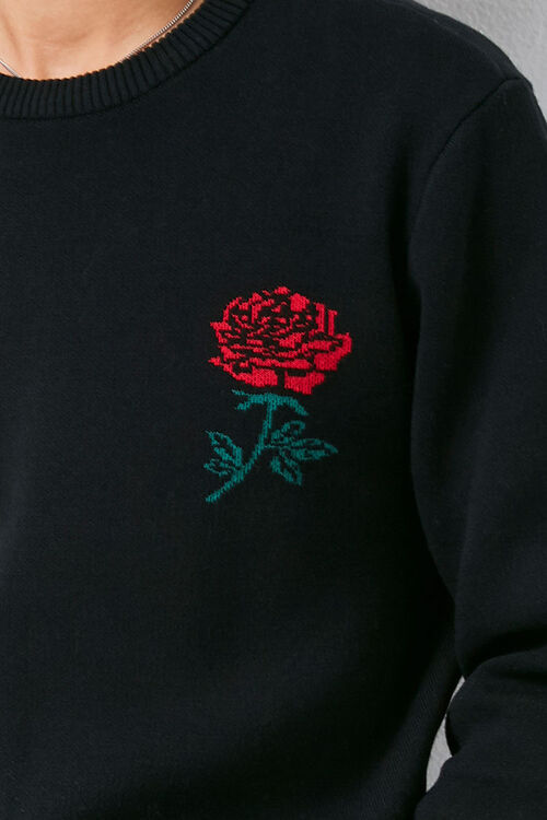 Brushed Rose Graphic Sweater, image 5