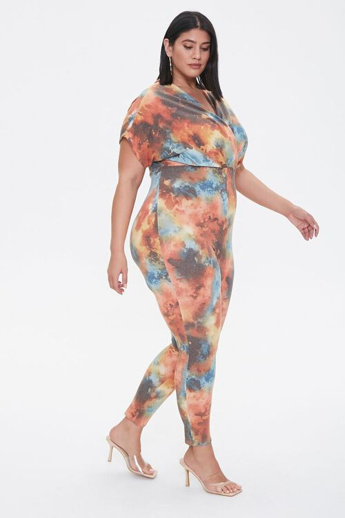 Plus Size Cloud Wash Jumpsuit, image 2