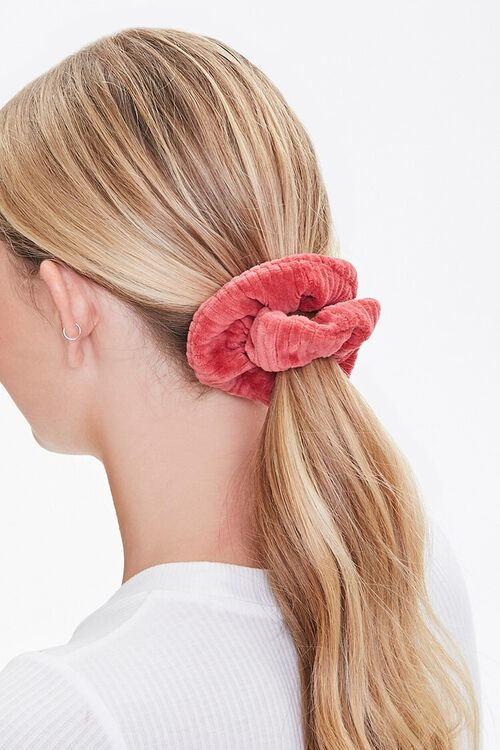 Chenille Ribbed Scrunchie, image 1