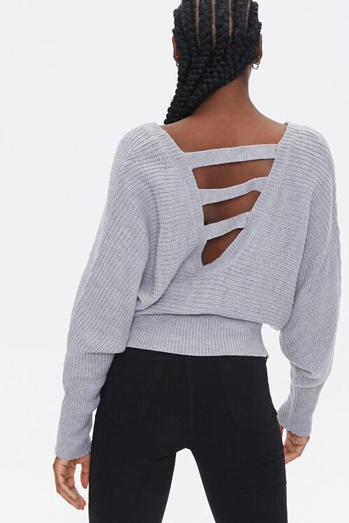 Ladder Cutout Sweater, image 2