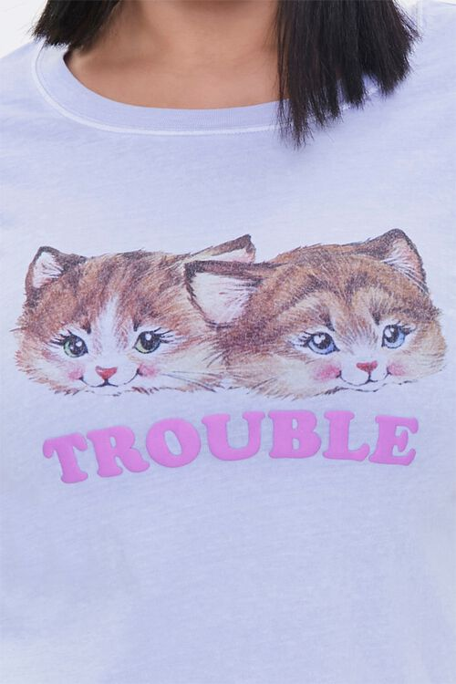 Plus Size Trouble Long-Sleeve Tee, image 5