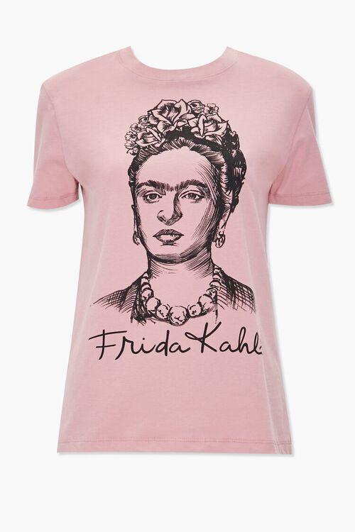 MAUVE/MULTI Frida Kahlo Graphic Tee, image 1