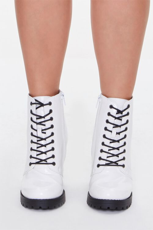 Block Heel Booties (Wide), image 4