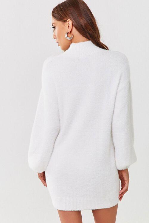 Fuzzy Knit Sweater Dress, image 3
