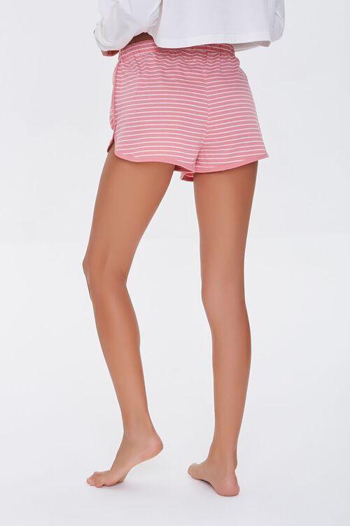 Striped Drawstring Lounge Shorts, image 4