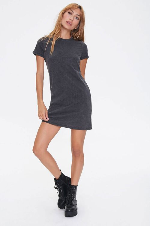 Crew Neck T-Shirt Dress, image 4