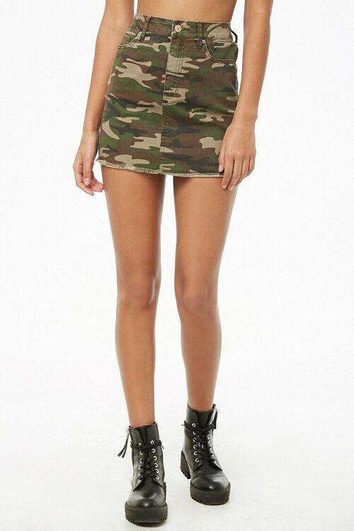 Camo Mini Skirt, image 2
