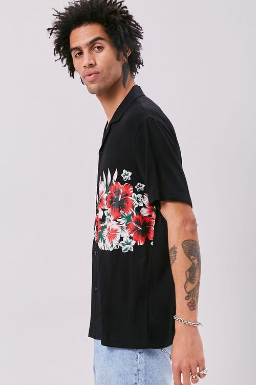 Classic Fit Tropical Graphic Shirt, image 2