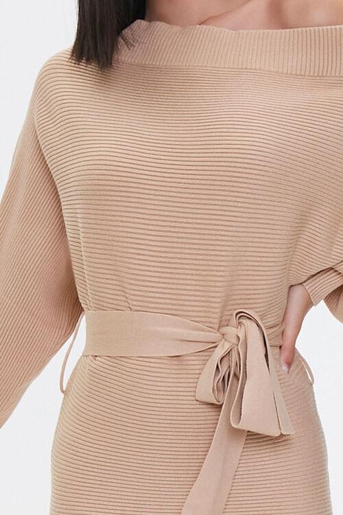 Off-the-Shoulder Sweater Dress, image 5