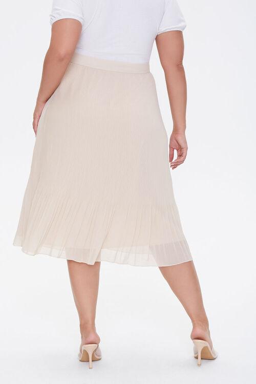 Plus Size Flowy Midi Skirt, image 4