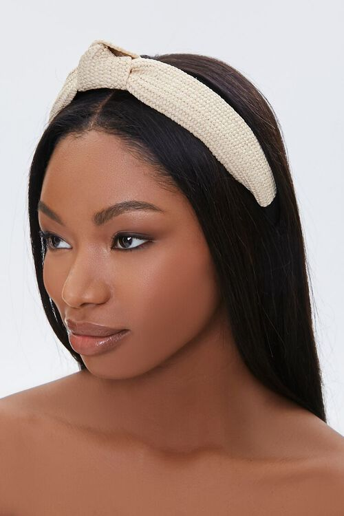 Textured Knot Headband, image 1