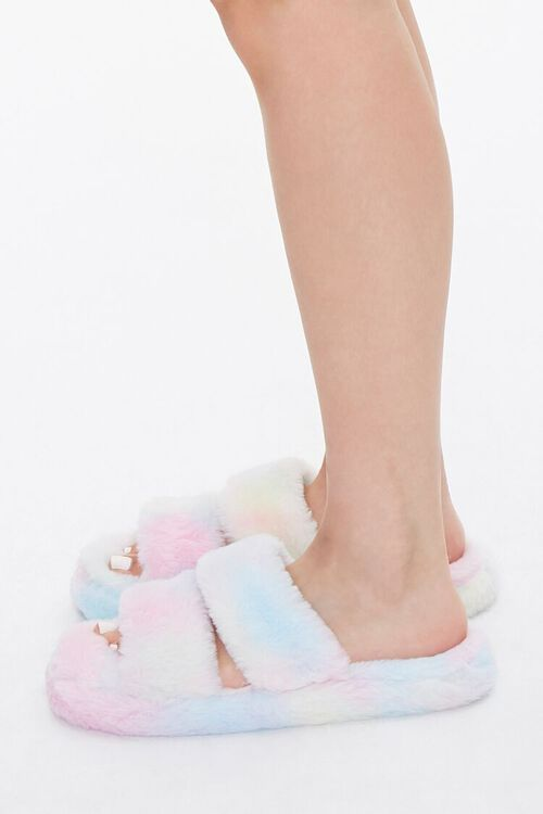 Cloud Wash Faux Fur Slippers, image 2
