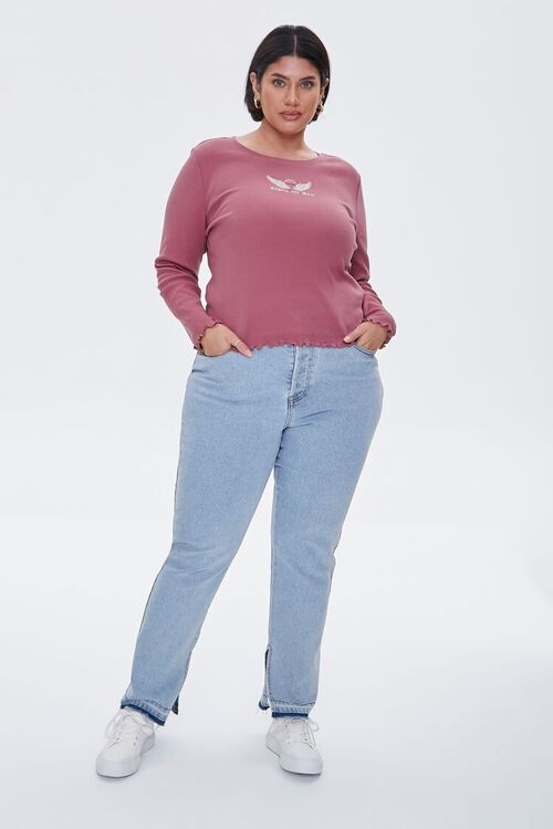 Plus Size Angels Are Real Top, image 4