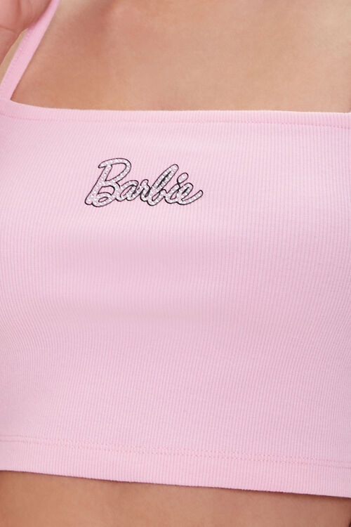 Barbie™ Graphic Cropped Cami, image 5
