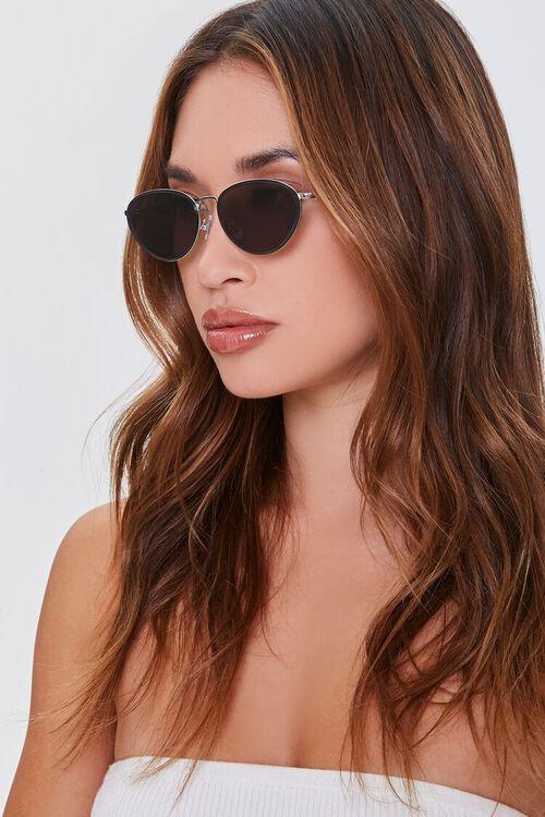 Oval Metal Sunglasses, image 1