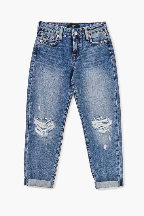 Girls Distressed Jeans (Kids), image 1