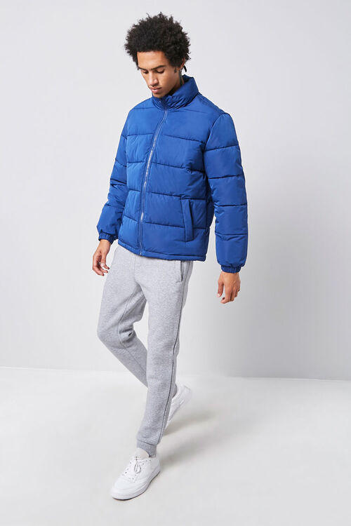 Zip-Up Puffer Jacket, image 4