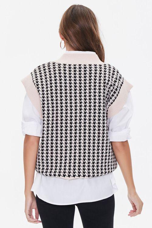Houndstooth Sweater Vest, image 3