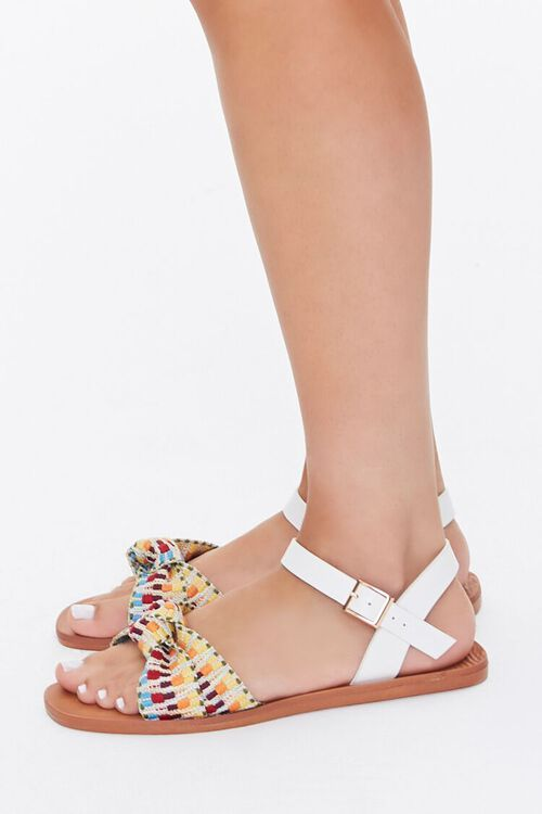 Knotted Geo Print Sandals, image 3