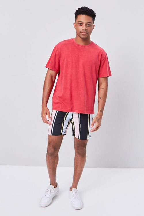Striped Drawstring Shorts, image 4