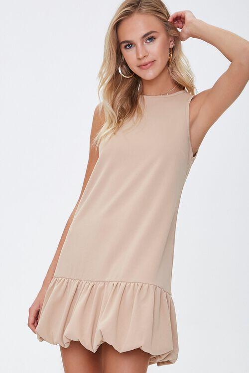 Flounce-Hem Tank Dress, image 1