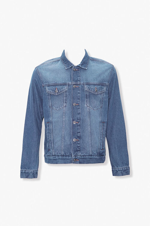 Button-Down Denim Jacket, image 1
